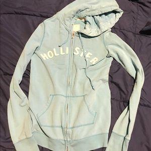 Hollister zip hoodie